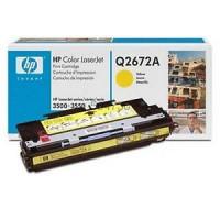 HP Q2672A (309A) Sarı Renkli Lazer Muadil Toner