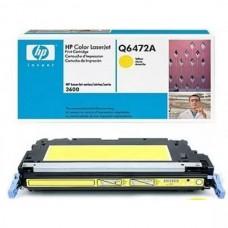 HP Q6472A (502A) Sarı Renkli Lazer Muadil Toner
